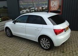 Audi A1 blindering ramen