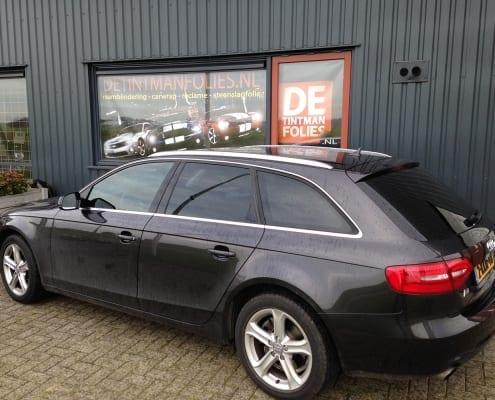 Audi A4 avant blindering ramen