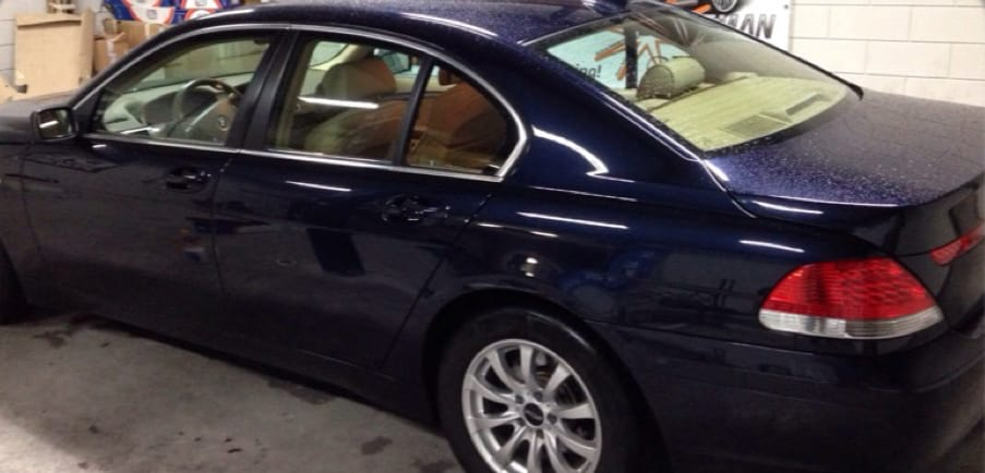BMW 7-serie blindring ramen 01