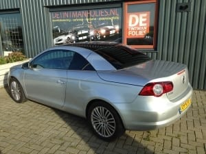 Volkswagen EOS zilver blindering ramen