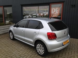 Volkswagen Polo zilver blindering ramen 02