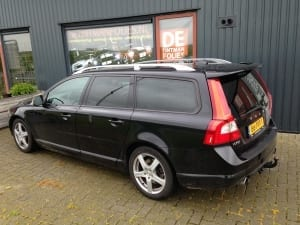Volvo V70 zwart blindering ramen
