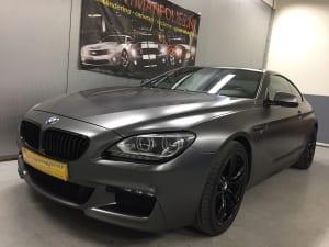 BMW 6 Coupe Wrap zijdeglans grijs 1080-S261 Satin Dark Grey-4