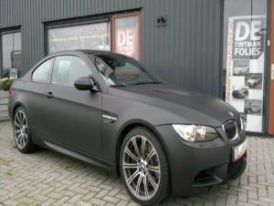 BMW M3 Mat Zwart 1080-M12 Matte Black-2