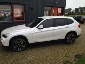 BMW X1 blinderen ramen-2