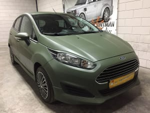 Ford Focus fiesta wrap Rijschool Enery Den Helder-9