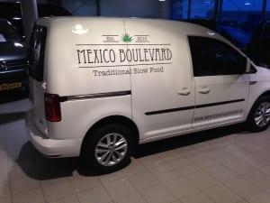Mexico Boulevard reclame