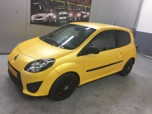 Renault Twingo Mat Geel Matt Sunflower Metallic-1