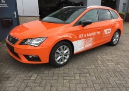 Seat Leon Wrap NM2D Glans Oranje Avery Gloss Orange-16